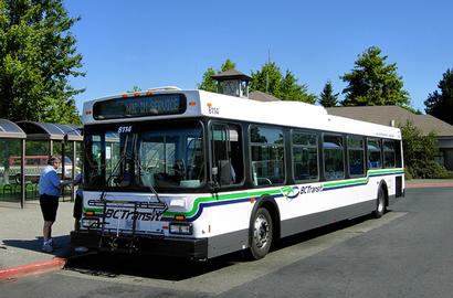ビクトリアの市バス